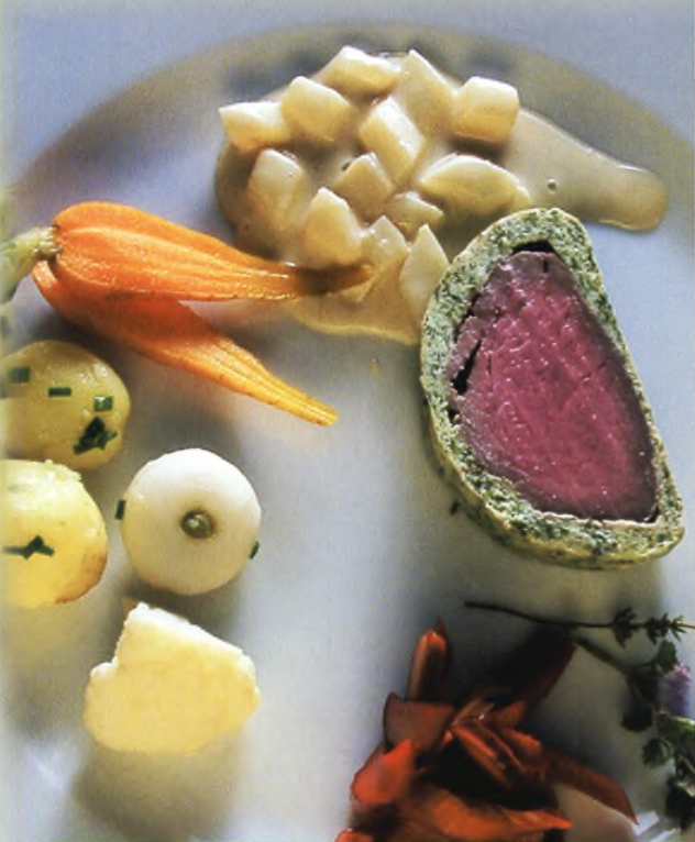Filet of Veal in Parsley Crust